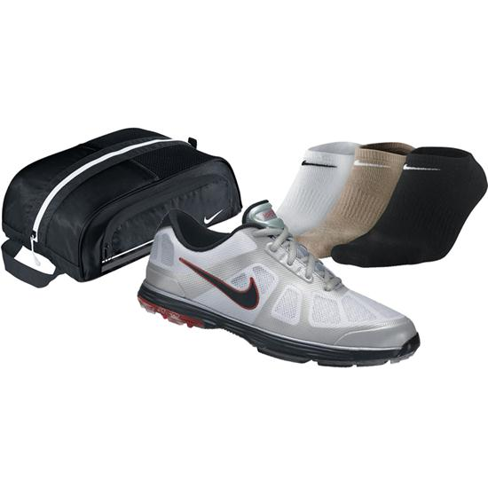 Nike Men's Lunar Ascend Golf Shoe Bundle Pack