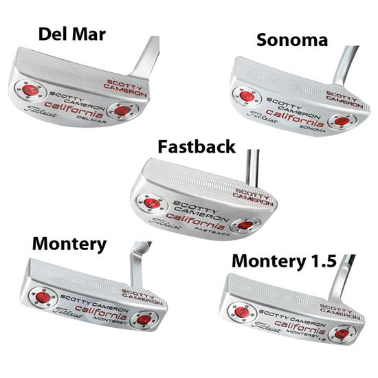 Scotty Cameron California Sea Mist Putter Series