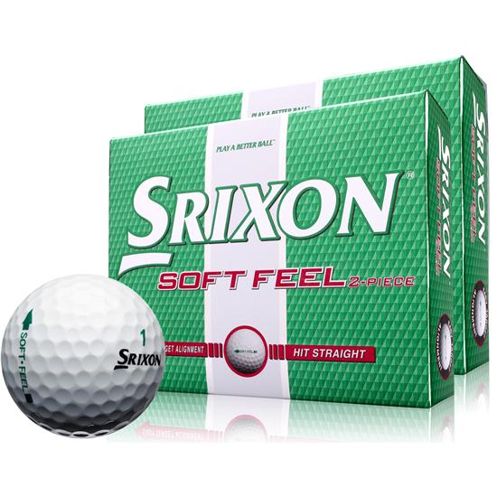 Srixon Soft Feel Golf Balls - Double Dozen