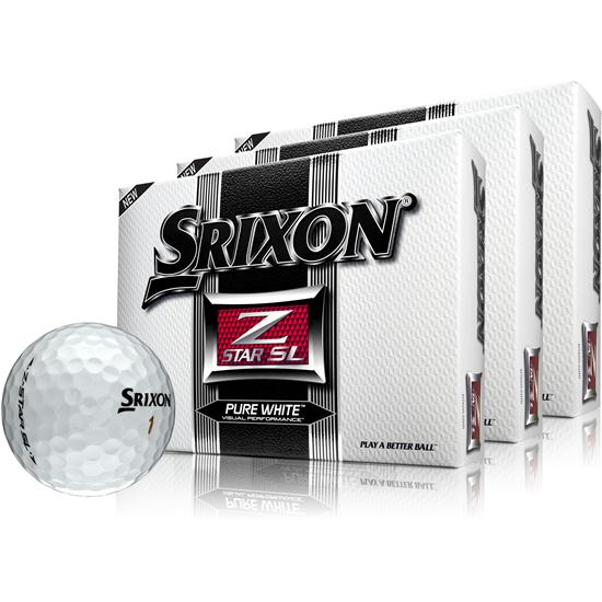 Srixon Z-Star SL Golf Balls - 3 Pack