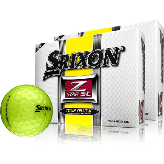 Srixon Z-Star SL Tour Yellow Golf Balls - 2 Pack