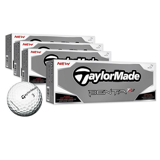 Taylor Made Penta TP3 Golf Balls - Buy 3 Dz Get 1 Dz Free