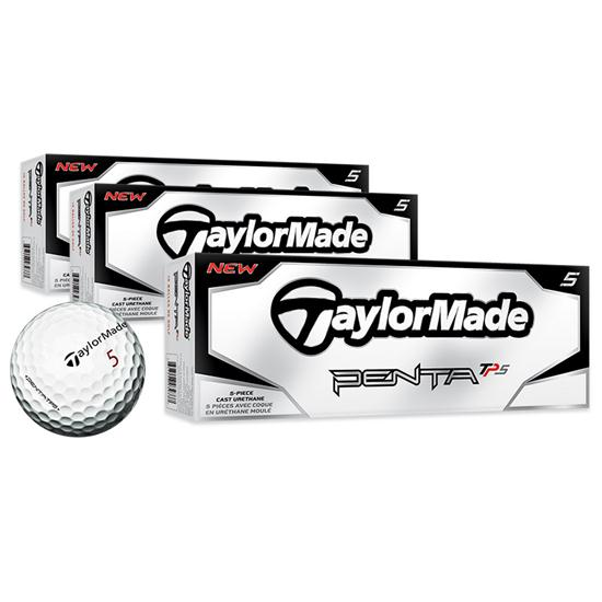 Taylor Made Penta TP5 Golf Balls - Buy 2 Dz Get 1 Dz Free