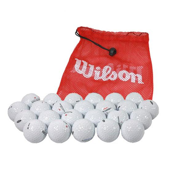 Wilson Double Dozen Golf Balls with Free Shag Bag