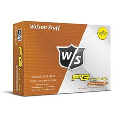 Wilson Staff FG Tour Yellow Personalized Golf Balls