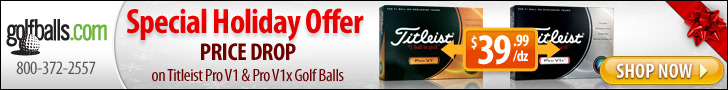 Price Drop on Titleist Pro V1 $39.99