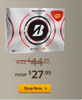 Price Drop on Prior Generation Bridgestone Golf Balls