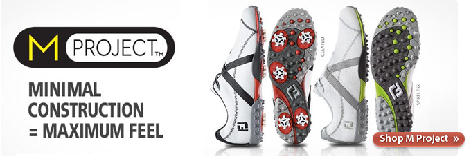 FootJoy M Project Golf Shoes - Feel More