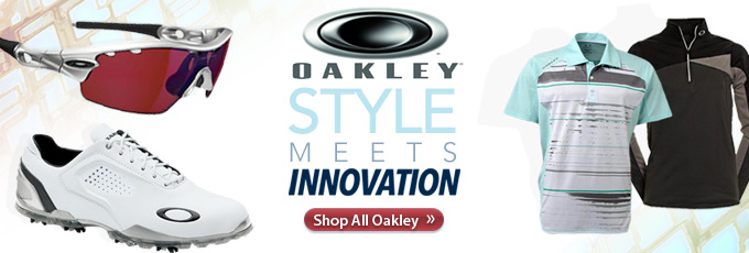 Oakley Golf Apparel and Accessories - Shop Now