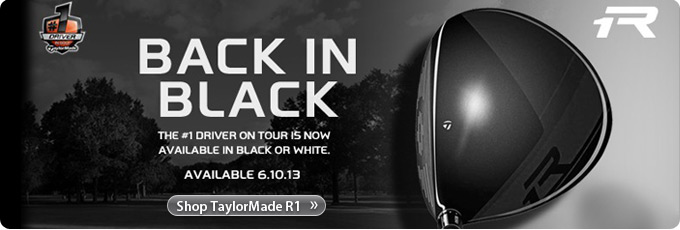 TaylorMade R1 Black Driver - Back in Black