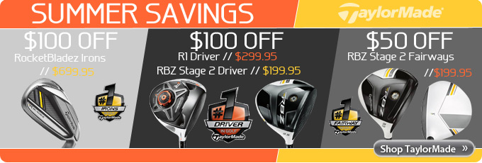 TaylorMade R1 RBZ Stage2 Rocketbladez Summer Savings