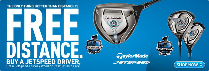 TaylorMade JetSpeed Driver - Free Club Offer
