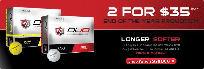 Wilson Staff DUO Double Dozen - Shop Now