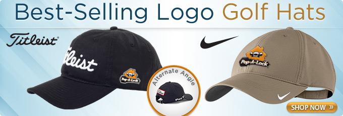 Best Selling Logo Golf Hats - Titleist & Nike