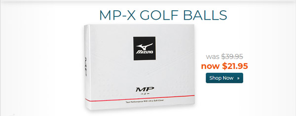 Mizuno MP X Golf Balls