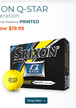 Srixon Q Star 4 Tour Yellow Golf Balls