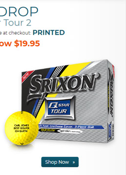 Srixon Q Star Tour 2 Yellow Golf Balls