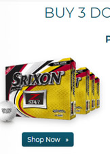 Srixon Z Star Golf Balls Buy 3 DZ Get 1 DZ Free