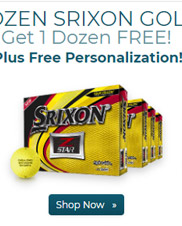 Srixon Z Star Yellow Golf Balls Buy 3 DZ Get 1 DZ Free