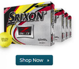Srixon Z Star XV Yellow Golf Balls Buy 3 Get 1 DZ Free