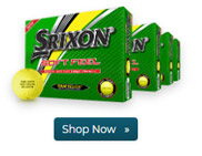 Srixon Soft Feel Yellow Golf Balls Buy 3 Get 1 Free