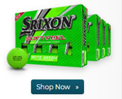 Srixon Soft Feel Brite Green Golf Ball Buy 3 Get 1 Free