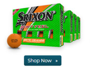 Srixon Soft Feel Brite Orange Golf Ball Buy 3 Get 1