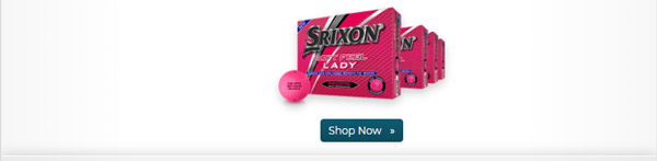 Srixon Soft Feel Lady Pink Golf Balls Buy 3 Get 1 Free