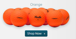 Taylor Made Noodle Neon Matte Orange Golf Balls