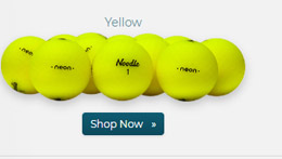 Taylor Made Noodle Neon Matte Yellow Golf Balls