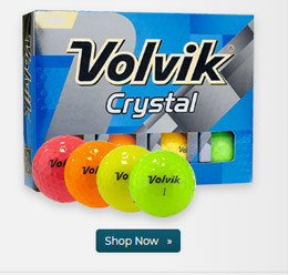 Volvik Crystal Multi Color Golf Balls