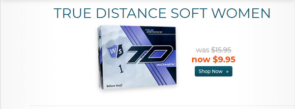 Wilson Staff True Distance Women Golf Balls