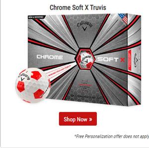 Chrome Soft X Truvis Red