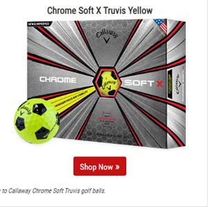 Chrome Soft X Truvis Yellow