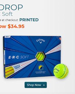 Callaway Golf ERC Soft Yellow Golf Balls