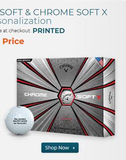 Callaway Golf Chrome Soft X Golf Balls