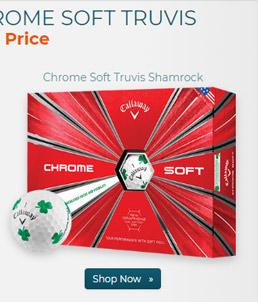 Callaway Golf Chrome Soft Truvis Shamrock Golf Balls