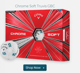 Callaway Golf Chrome Soft Truvis Golf Ball w Golfballscom Logo