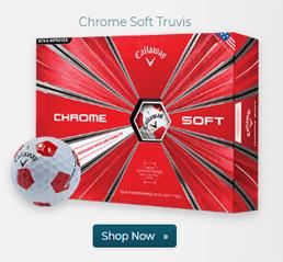Callaway Golf Chrome Soft Truvis Red Golf Balls
