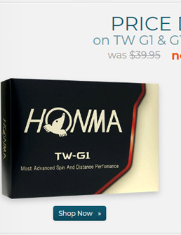 Honma TW G1 Golf Balls