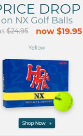 Honma NX Yellow Golf Balls