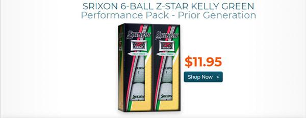 Srixon Z Star Golf Balls w Iridescent Cover 6 Ball Pk