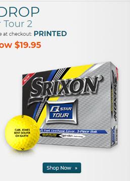 Srixon Q Star Tour 2 Yellow Golf Balls