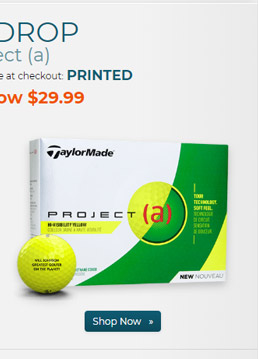 Taylor Made Project a Yellow Golf Balls