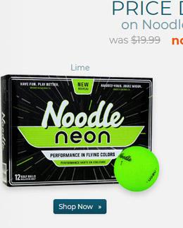 Taylor Made Noodle Neon Matte Lime Golf Balls