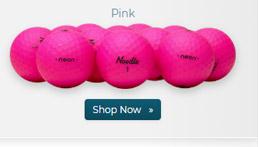 Taylor Made Noodle Neon Matte Pink Golf Balls