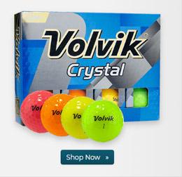 Volvik Crystal Multi Color Golf Balls
