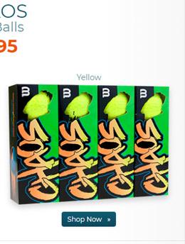 Wilson Chaos Yellow Golf Balls