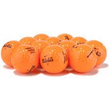 Nike Mojo Lucky #7 Orange Logo Overrun Golf Balls