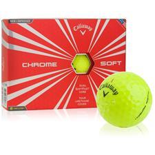 Callaway Golf Chrome Soft Yellow ID-Align Golf Balls